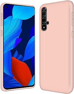 Verco Telefoonhoes voor Huawei Nova 5T hoes silicone, Flex TPU gel [zachte binnenvoering] Case voor Huawei Nova 5T bescher...