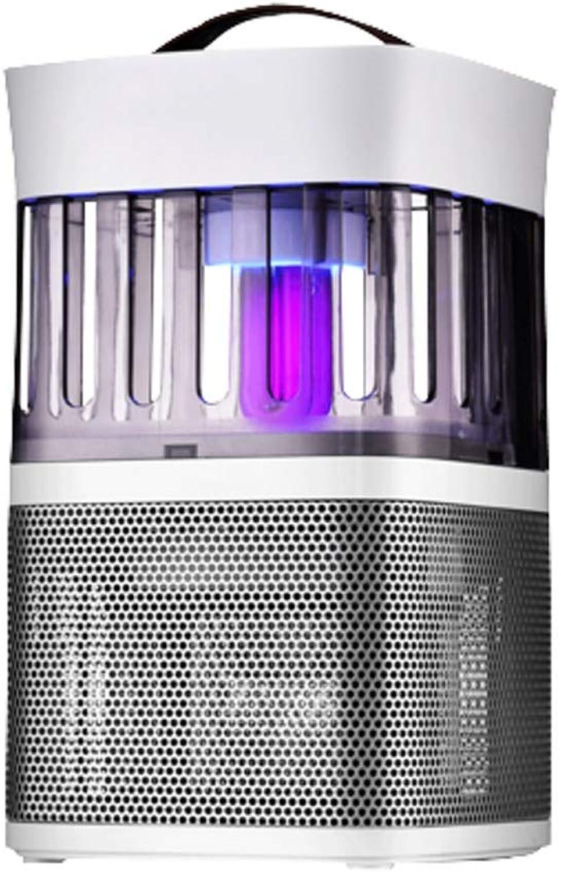 XCJ Moskito-Mrder, LED-Capture-Licht, Mückenschutzlampe, USB-Aufladung, Leicht Zu Reinigen Energiesparend, Geruscharm, Geeignet Für Das Schlafzimmer, Wohnzimmer (Farbe   Champagner)