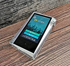 Soft Cover Crystal TPU Clear Case for iriver Astell&Kern A&Norma SR15 with Front and Back Screen Protector Tempered Glass (Clear)