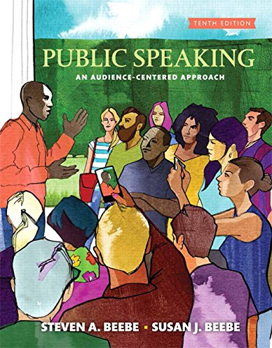 Compare Textbook Prices for Public Speaking 10 Edition ISBN 9780134380919 by Beebe, Steven A.,Beebe, Susan J.