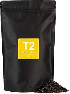 T2 Tea New York Breakfast Loose Leaf Black Tea in Resealable Foil Refill Bag, 250g