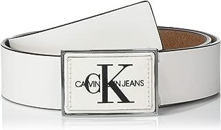 Men's 38mm Plaque Logo Belt