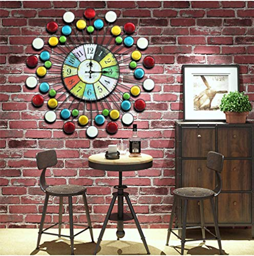 Wandklok 70Cm Large Round Wall Clock Large Wall Clock For Living Room Wall Decoration For Home Decoration