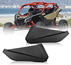 Lower Door Panel Inserts with Metal Frame OEM Style Works for 2017 2018 2019 2020 Can Am Maverick X3 (2 Doors)