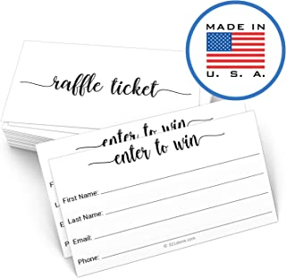 321Done Entry Form Cards Raffle Ticket (50 Cards) 3.5