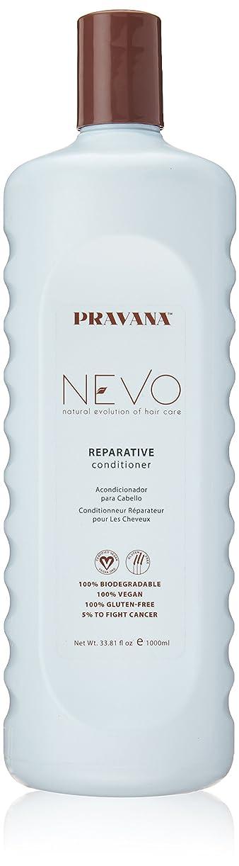 示すバトル祈るPravana Nevo Reparative Conditioner 33.81 Oz/1000ml by Pravana