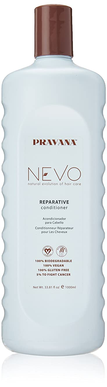 事務所年金受給者フライカイトPravana Nevo Reparative Conditioner 33.81 Oz/1000ml by Pravana