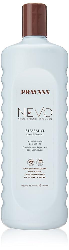 虚偽魅惑する縮れたPravana Nevo Reparative Conditioner 33.81 Oz/1000ml by Pravana