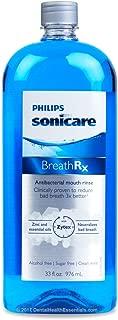 BreathRx Anti-Bacterial Mouth Rinse (33oz Bottle) by BreathRx