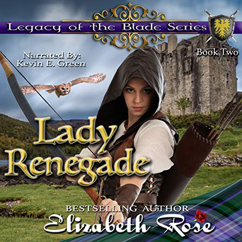 Lady Renegade audiobook cover art