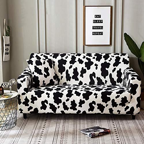 PPOS Fundas de sofá Estampadas geométricas para Sala de Estar Funda elástica elástica Protector de Muebles Fundas de sofá de Esquina A2 3 Asientos 190-230cm-1pc
