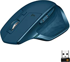 Logitech MX Master 2S Wireless Mouse – Use on Any Surface, Hyper-fast Scrolling, Ergonomic Shape, Rechargeable, Control up...