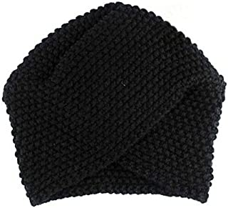 CHIDY Fashion Women Ladies Warm Winter Knitted Hat Cap Solid Color Knit Cap Walking Cap Sleeping Hat