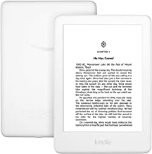 """All-New Kindle (10th Gen), 6"""" Display now with Built-in Light, 4 GB, Wi-Fi (White)"""
