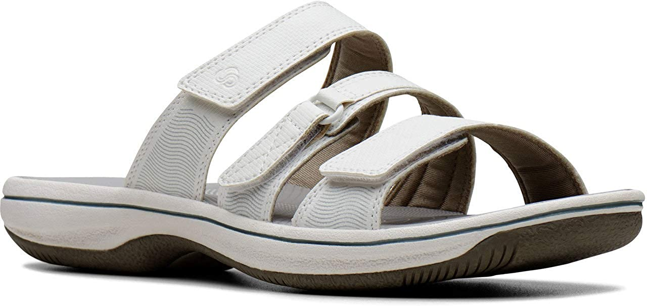 Clarks Women's Brinkley Directly managed store Sandal Coast Slide 5 ☆ popular