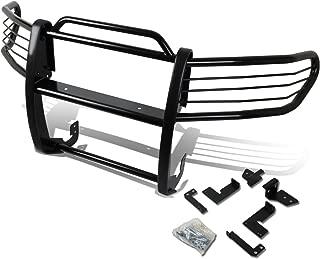 For FJ Cruiser Front Bumper Protector Brush Grille Guard (Black)