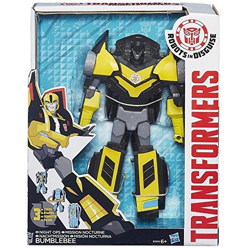 Transformers Hasbro Robots in Disguise Une Modification Figure – Bumblebee (B0897) (Couleurs Assorties et modèle)