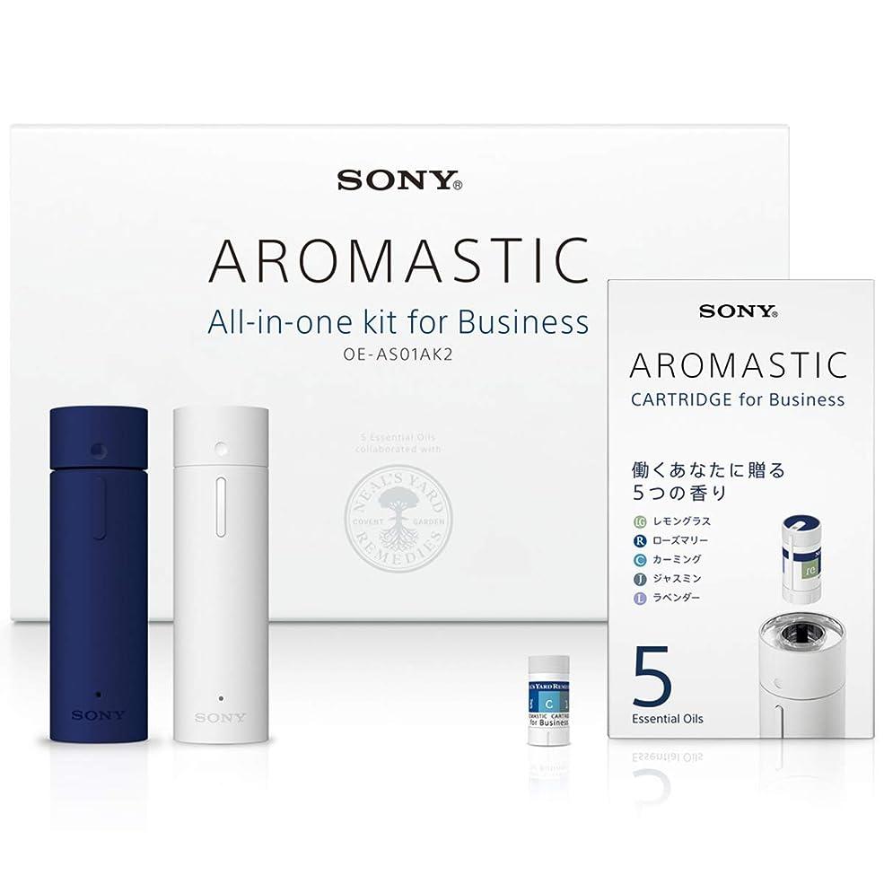 どきどきリードいっぱいAROMASTIC All-in-one kit for Business (オールインワンキット for Business) OE-AS01AK2