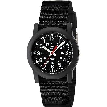 [タイメックス]TIMEX 腕時計 キャンパー ブラック文字盤 ブラックナイロンストラップ T18581 [正規輸入品]
