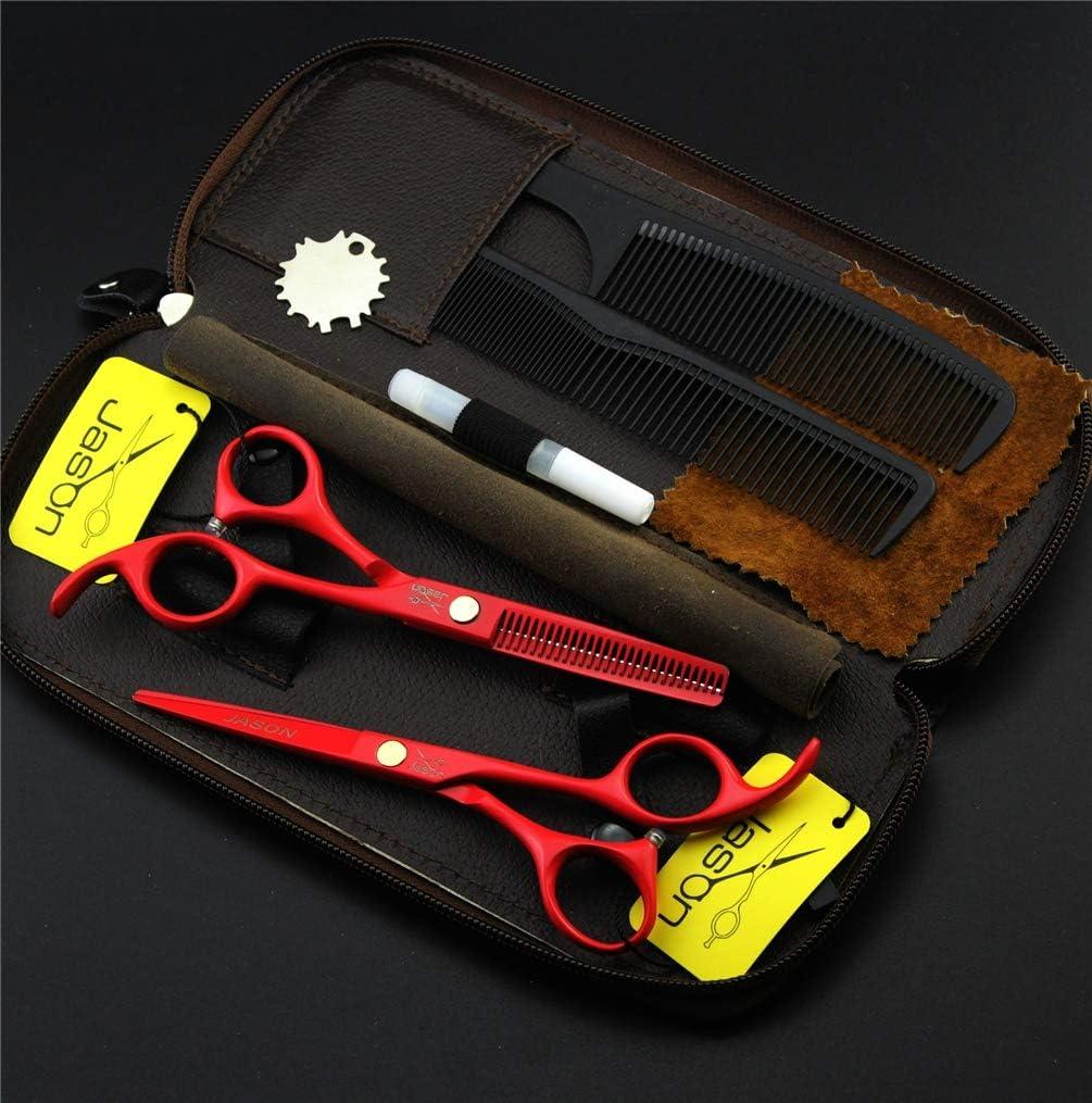 HIJIN Hair Cutting Scissors Shears shop Professional Kit Ha Max 47% OFF Inch 5.5