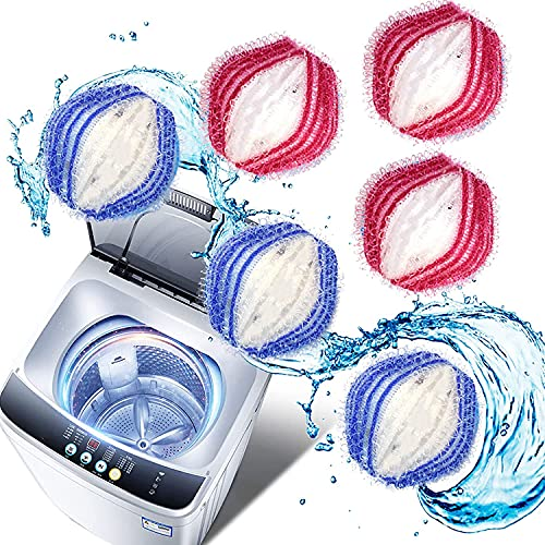 Fusselbälle für die Waschmaschine, 9 Stück Fusselbälle Waschkugel Nylon Waschkugeln Fusselbälle Mini-Waschbälle 3.5 cm, Tierhaarentferner Waschmaschine für Wäsche