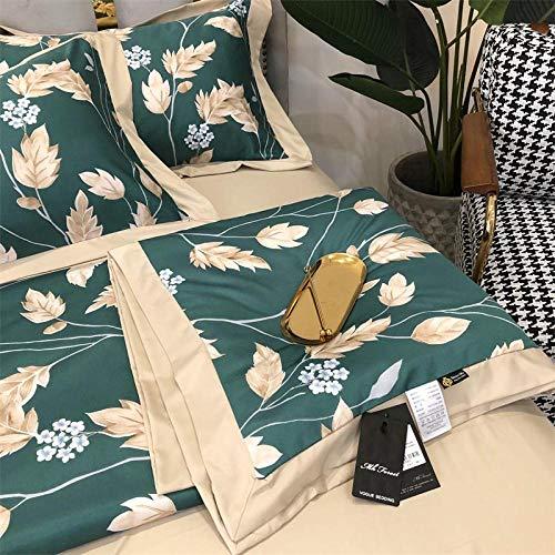 XNSY Bequem Tencel Sommerklimaanlage war waschbar Single Double Spring und Autumn Quilt Thin Quilt Summer-150x200cm_N.