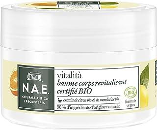 N.A.E. - Baume Corps Hydratant aux Extraits de Citron Bio et de Mandarine Bio - Certifié Bio - Revitalisant - Vitalita - 9...