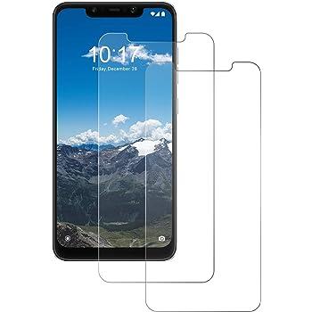 POOPHUNS Cristal Templado Xiaomi Pocophone F1, 2-Unidades ...