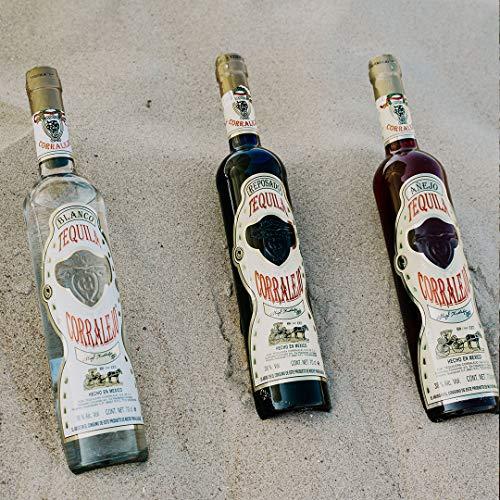 Corralejo Tequila Reposado, 100% Agave 6 Monate in französischen Limousin-Eichenfässern gelagert (38% Vol 1 x 700ml) - 2