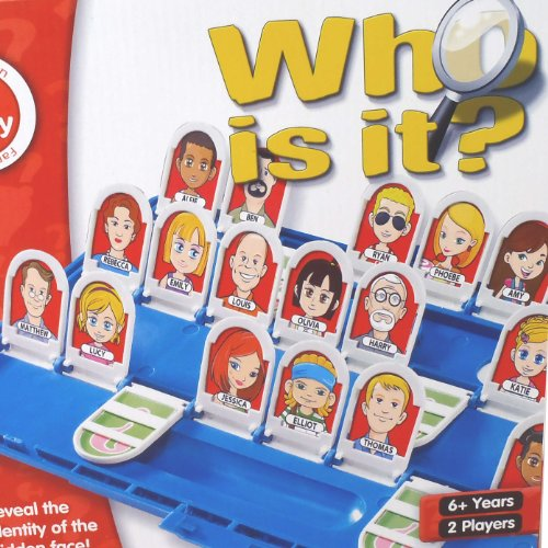 Classic Board Game - Guess Who is it by @ Play