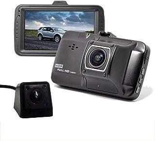 De metal de doble lente súper infrarrojos de visión nocturna que conduce el registrador 1080P HD pantalla de 3 pulgadas de...