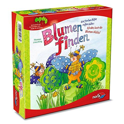 Noris 606011073 - Blumen finden, Kinderspiel