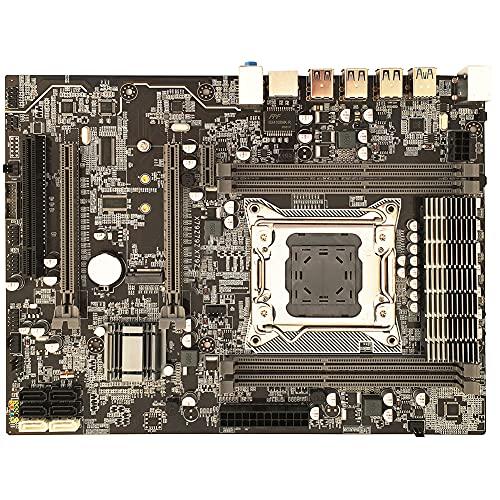 Qingchu X79A - Placa base LGA 2011 DDR3 ECC REG Memory USB 3.0 SATA3 PCI-E M.2 SSD USB 3.0