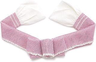 (ソウビエン) 帯揚げ ピンク紫 ピンクパープル 白 シンプル 総絞り 正絹 振袖向け 成人式向け 帯あげ おびあげ 和装小物
