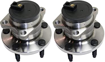 Wheel Hub and Bearing For 2007-2008 Ford Edge Rear Left and Right FWD With ABS Encoders Lug Bolts
