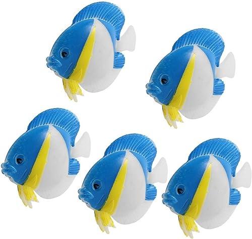 2021 Mallofusa Artificial Plastic Floating outlet sale Fish Tank Ornament Aquarium Decoration outlet sale Deccor 5 Pcs outlet sale