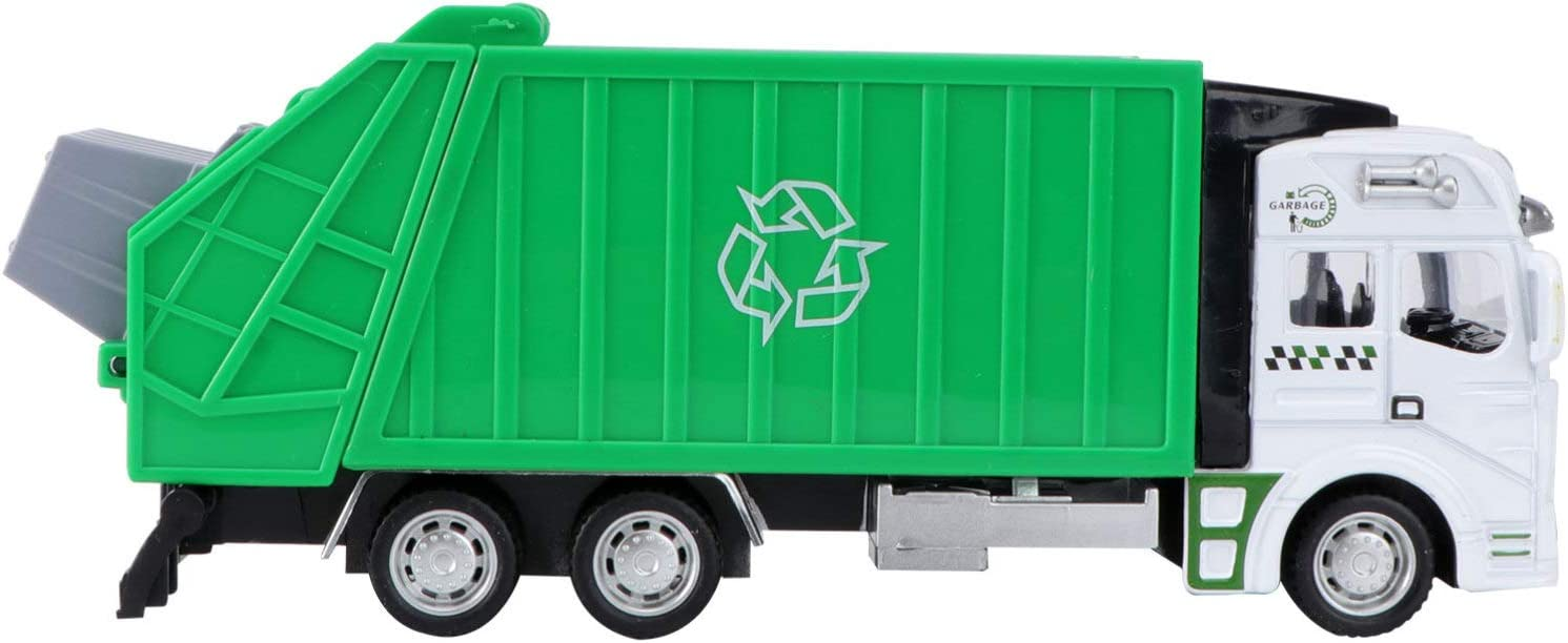 NUOBESTY Free Max 52% OFF Shipping New Garbage Trucks Toy Bin Truck Toys Recycling P Lorry