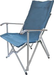 ogawa(オガワ) 折りたたみ椅子 ハイバックチェア プルシアンブルー 1905