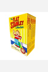 The Flat Stanley Adventures Series Collection 12 Book Box Set by Jeff Brown (Magic Lamp, In Space, Invisible, Flat Again, Amazing Mexican Secret & MORE!) Paperback