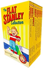 The Flat Stanley Adventures Series Collection 12 Book Box Set by Jeff Brown (Magic Lamp, In Space, Invisible, Flat Again, ...