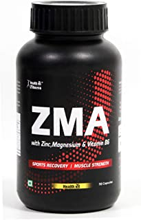 Healthvit Fitness ZMA Nightime Recovery Support-90 Capsules