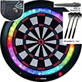 Gran Board 3 LED Dartboard (Blue) with Special Bracket & ChoukouTip50pics & DartsSet