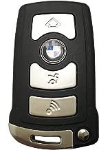 Horande Replacement Key Fob Case fits for BMW 7 Series 745i 750i 750Li E66 Keyless Entry Remote Control Key Fob Shell Cover No Chip