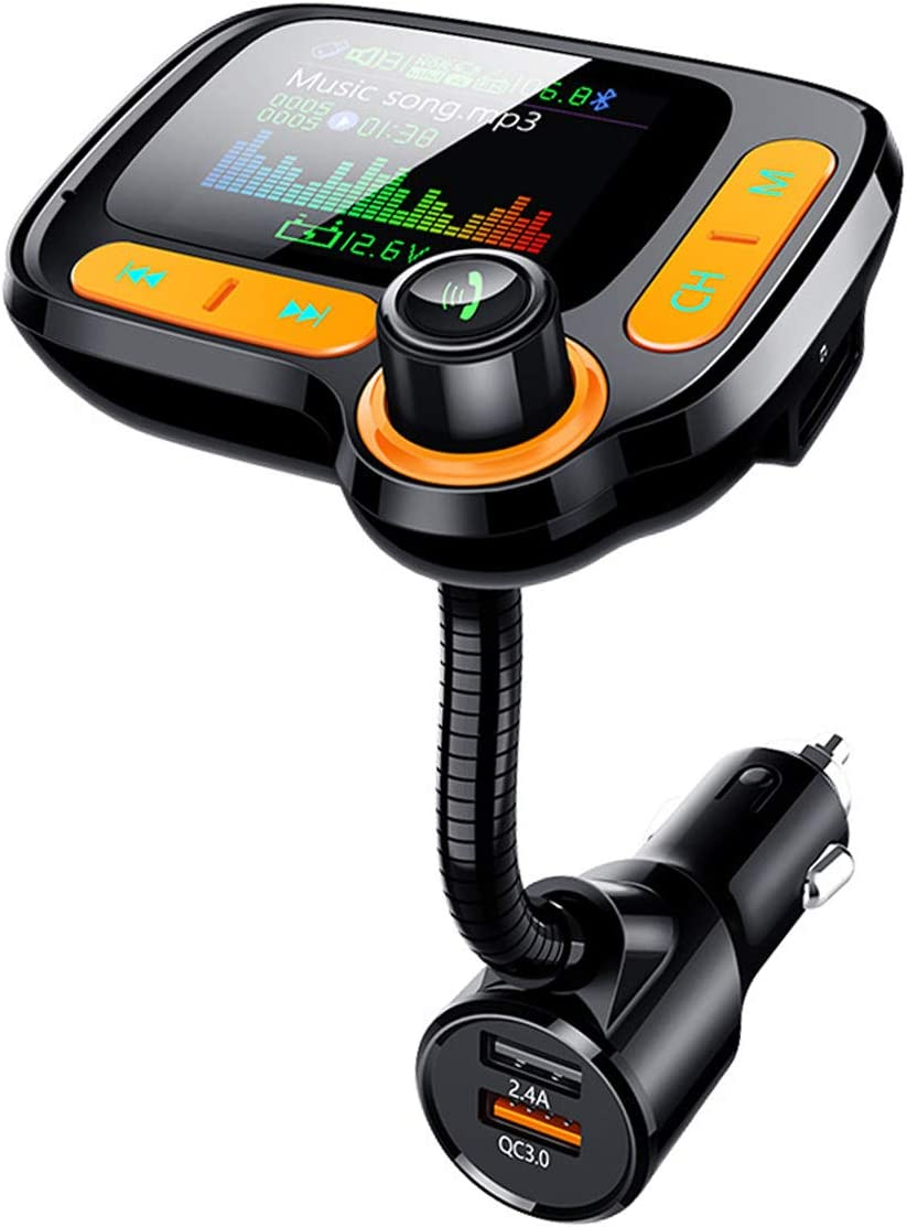 Upgraded Version Bluetooth FM Transmitter Ra Wireless 100% quality warranty Car Rare for