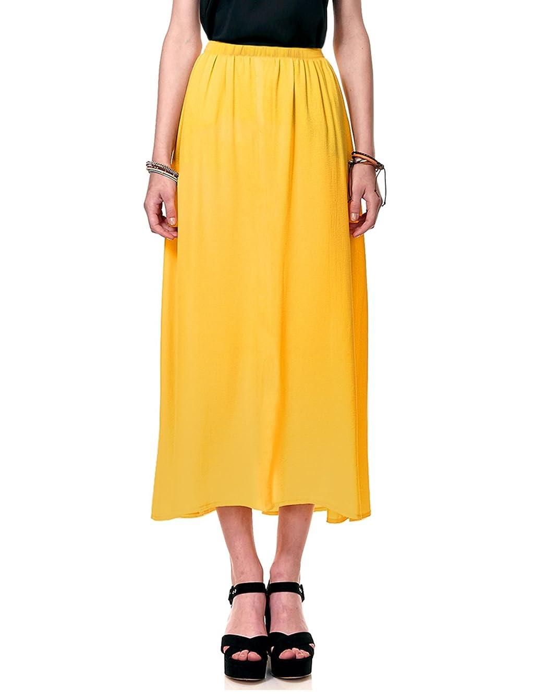 Regna X Boho Women's Summer Cool Lightweight Maxi Long Skirt (3 Styles, Plus Size)