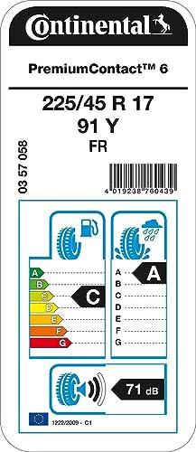 Continental Premiumcontact 6 Fr 225 45r17 91y Sommerreifen Auto