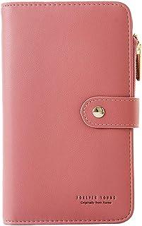 Coopay Notebook Pocket Long Portefeuille Femme Sac à Main, Élégant Porte Monnaie en Cuir PU Grand Capacité Poche Carnet Se...