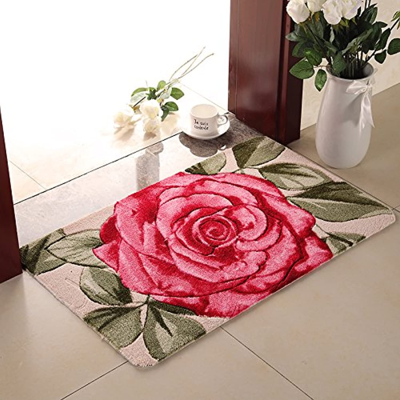 JinYiDian'Shop-Mats Door Mat Carpet Bathroom Absorbent Pads ,6090Cm, New pink
