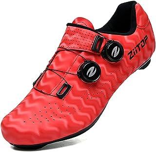 Mens Road Bike Cycling Shoes Womens Peloton Bike Shoes...