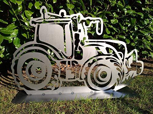 Gartendeko Fockbek Metallfigur Gartenfigur ca. 60 x 96 cm (Motiv